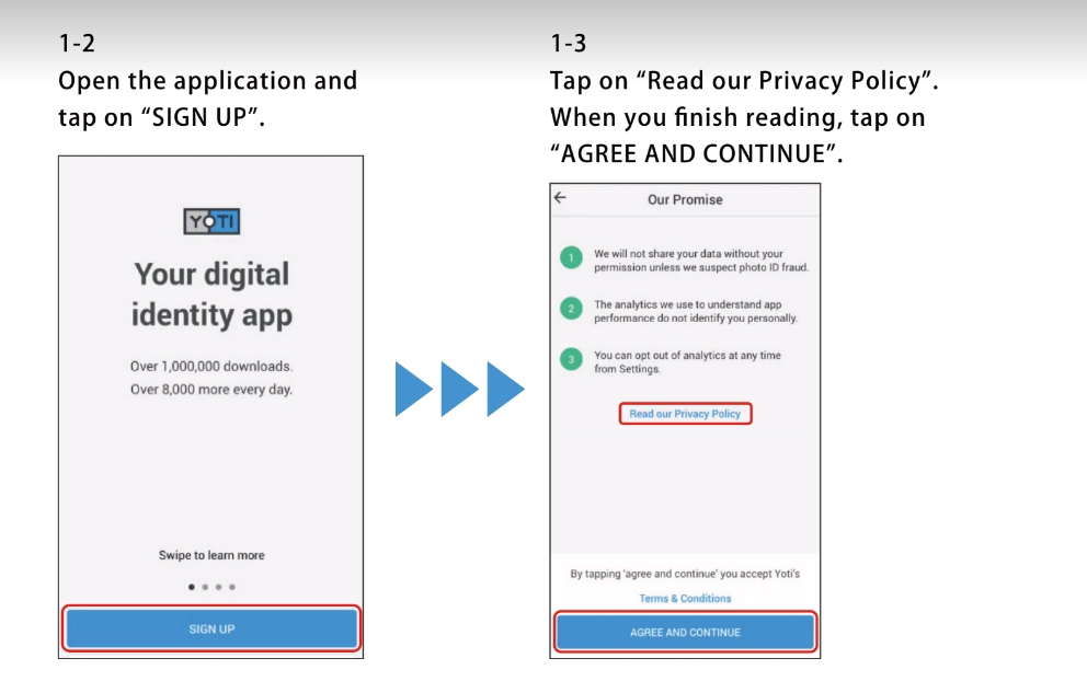 KYCアプリ「YOTI」登録方法!及び、「WowooExchange」事前登録